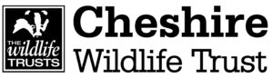 Black and white logo of the Chesire Wildlife Trust